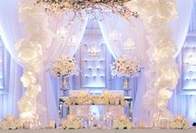 Sweetheart tables  / by Dianne Cooley