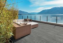 Keramikfliesen / Keramikfliesen und keramische Terrassenplatten für eine eindrucksvolle Terrasse.