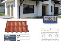 Steel roof sheets / Roofeo`s range of tile effect steel roof sheets