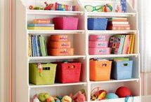 Estante Organizadora de Brinquedos