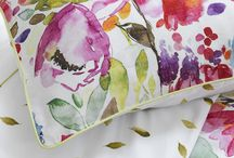 Floral Patterns and Textiles / Inspiration for floral textile pattern and design