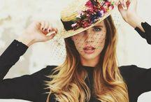 Cappelli nastri pizzi fiori