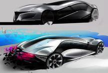 Concepts / Concept art, industrial design, sketches
