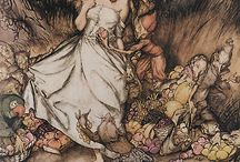 Arthur Rackham / Because one day his work will be tattooed all over my body. / by Healthful Pursuit
