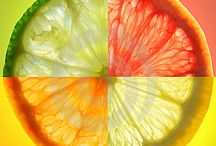 Citrus...a daily dose. / I love citrus...hmmmm, is it because it is just another colored circle?  In celebration of these special colored circles, they have their own starring role.  Let's find out about this vital C!