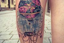 balloon tattoos / inspiration for my 1st tattoo