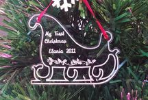 Christmas Gifts / Looking for a personalised Christmas gift? We offer a range of products from Christmas tree decorations to Christmas Eve boards that make truly personal gifts.