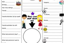 "Getting to Know You Games & Activities / Surveys, activities and games for the beginning of school and getting to know students. Also ""name games""!! / by Laura Winslow"
