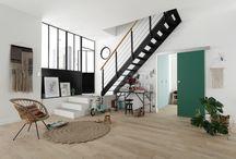 Focus : Escaliers / Lapeyre vous propose de trouver l'escalier qu'il vous faut en intérieur comme à l'extérieur, en standard ou sur mesure, parmi un vaste choix de formes, de matériaux, de couleurs, de finitions, de rampes, de balustrades etc.