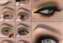 Ojos en tonos verdes