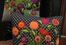 poduszki kolorowe