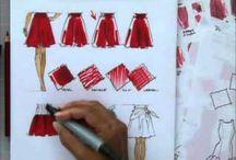 fashion sketcning by Ablina