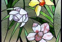 Glass painting / Üveg festés