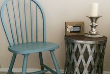 Wooden chairs colour ideas