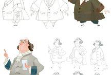 образы персонажей
