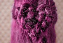 saç modelleri  renkli saçlar