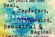 LOVE your imperfection / Wabi Sabi logo