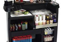 Mobiele bar / Mobiele bars, barmodules, ice chests, containers en flair bars. Alles voor cocktails op locatie voor de professionele bartender van gerenommeerde merken als Probar, Carlisle en Flairco.