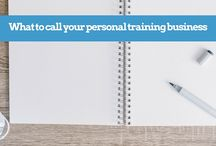 Personal training business support