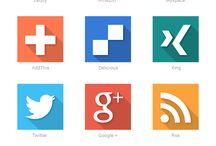 웹 디자인-아이콘