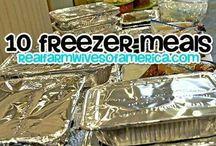 Freezer/Make Ahead Meals