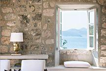 Afwerking ramen bij natuurstenen muren