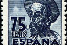 Sellos Cervantes y El Quijote