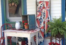 Porch Decorating / by Martha Atkins