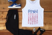 OOTD / Daily combinations made for the Raw life!