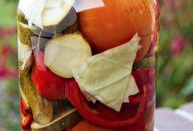 Маринованные овощи-ассорти