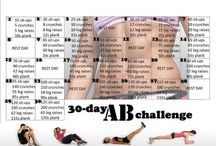 30 day challenges / 30 day challenges for health- fitness and nutrition. / by Stacy Wilson