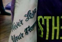 Tattoos. ;*