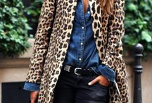 casaco animal print