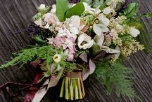 Bouquets with Ribbon