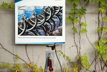 Ibombo - stacja naprawy rowerów / Ride & Be Happy - bike repair station