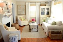 Home - Livingroom / by Savannah Patrone - theperfectedmess.com