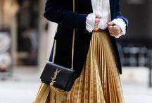 velvet skirt project