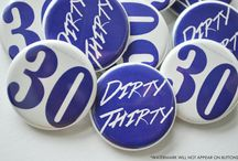 Birthday Themed Buttons