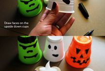 Kid's Halloween Crafts / Spooky fun crafts to do with the kids for Halloween. ^KM
