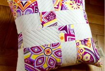 Patchwork - Cushions / Ideas for home decorartion
