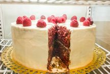 my sweets and cakes / This album show my sweet productions. Love to bake, not that much to eat them...