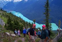 British Columbia / Our luxury British Columbia adventure vacations will have you exploring alpine lakes, pacific beaches, rainforest trails, world-class wineries and secluded, calm water bays. Hiking, biking, wine tasting, kayaking and fishing amongst the beautiful peaks and valleys of British Columbia is tough to beat.