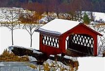 Covered bridges / by Cresta Derry