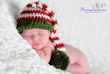 Christmas baby props