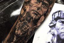 Tatuagem ante braço