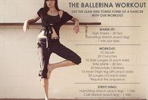 balet edzés