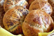 Domácí chléb, pečivo
