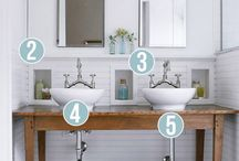 Bathrooms / Inspiration pins to help your next bathroom project.
