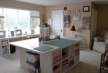 Craft Rooms / by Maddie L
