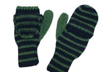 Handmade Texting Mittens by Twitten / View our Handmade knit texting mittens, allowing you to stay warm while using your phone or other device!